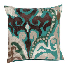Ara Pillow 18x18x4, Down Fill