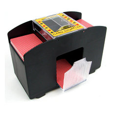 Trademark Poker - 4 Deck Automatic Card Shuffler, Two Shufflers - Game Table Accessories