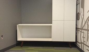 5-50 Walnut based custom cabinetut,