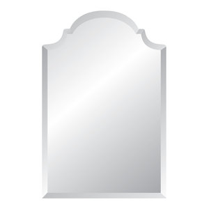 "Regal Frameless Mirror with Polished Beveled Edges, 24""x36"""