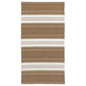 Astor Vinyl Floor Cloth, Brown, 150x240 cm