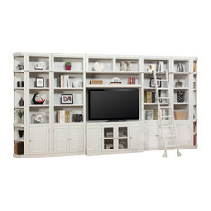 Parker House Boca Extended Library Wall Entertainment Center Bookcase