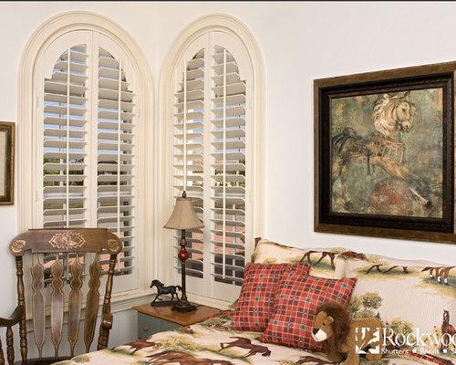 Plantation Shutters Arch Window Shutters