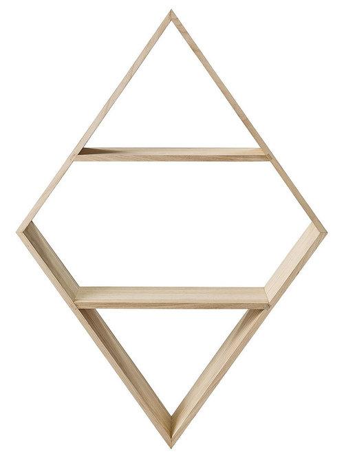 Diamond Hylla 100cm - Display & væghylder