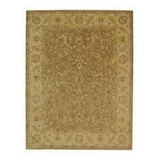 "Safavieh Antiquity Collection AT311 Rug, Brown/Gold, 8'3""x11'"