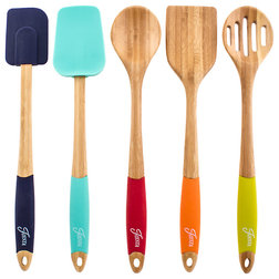 Contemporary Cooking Utensil Sets by Cambridge Silversmiths, Ltd.