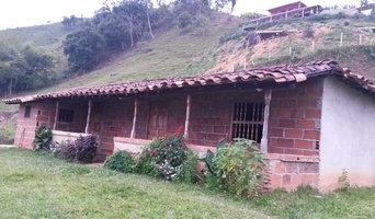 Casa campo vista frontal
