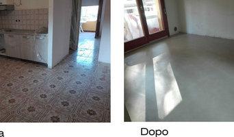 Vernice per piastrelle pavimento best kit smalto per piastrelle e vasche harpo spa with vernice - Vernice per piastrelle pavimento ...