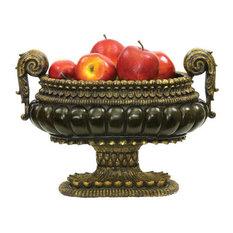 Mediterranean Decorative Centerpiece Display Bowl