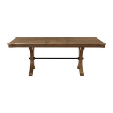 ACME Harald Extendable Dining Table, Gray Oak