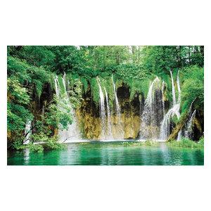 Tropical Waterfall Non-Woven Wallpaper Mural