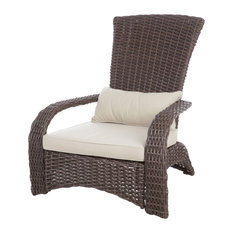 patio sense deluxe coconino wicker chair outdoor lounge chairs - Lounge Chair Outdoor