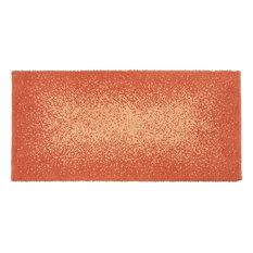 Gradient Cotton Blend Bath Mat, Orange, 55x110 cm
