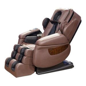 Luraco i7 Irobotics 7th Generation 3D Full Body Heat Massage Chair  Brown  Luraco i7