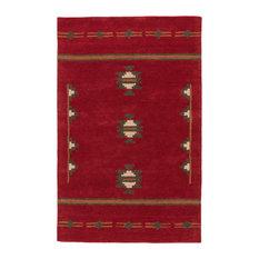 Jaipur Living Fir Handmade Medallion Red/Gray Area Rug, 8'x10'