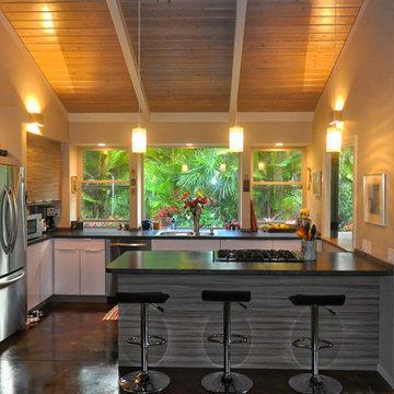 Big Island Jungle Meets Scandinavian Design