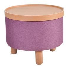 Molde Stool, Large, Purple