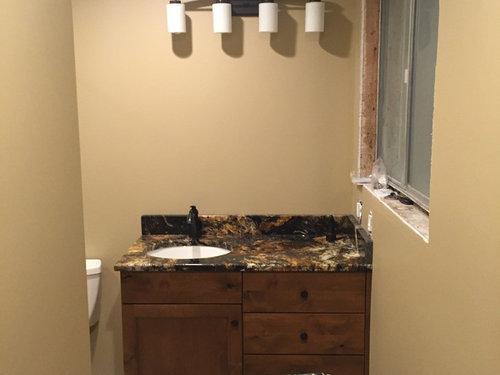 Bathroom Design (Mirror To Match Vanity And