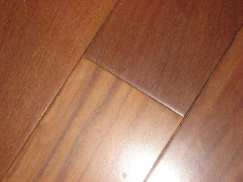 Problem With Brazillian Teak Flooring