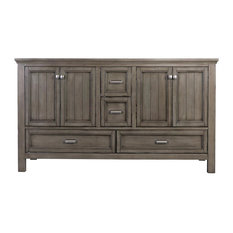 Foremost BAV6022D Brantley Double Vanity Cabinet Fixture, Distressed Gray