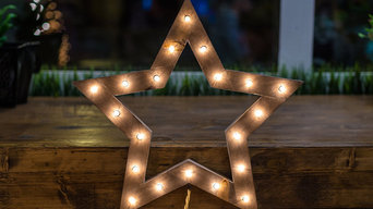 "Lamp ""WooDoo Star"". Colour ""Wenge"""
