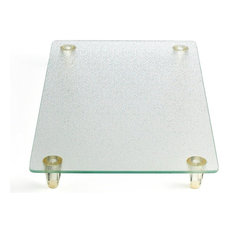Counterart Clear Tempered Glass Instant Counter Cutting Board