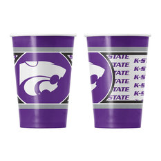 Kansas State University Disposable Paper Cups, Pack of 20