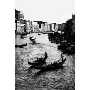 """Road to Venice"" Photo Print, Canvas Print, 40x60 cm"