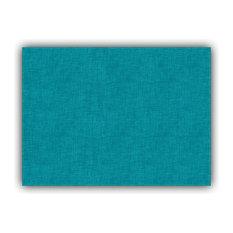 Weave Aqua Indoor/Outdoor Placemat, Finished Edge