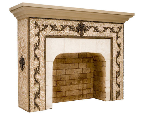 fireplace medallions. Mosaic Medallions Marvellous Fireplace Ideas  Best inspiration home