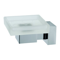 Aquamoon Bano Diseno Quax Soap Dish, Chrome