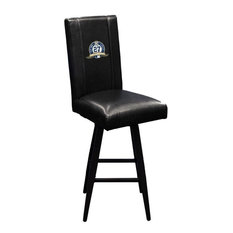 New York Yankees MLB Bar Stool Swivel 2000 With 27th Championship Logo Panel