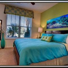 Master Bedroom   Teal