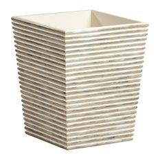 Creative Bath Products, Inc. - Dragonfly Wastebasket - Wastebaskets