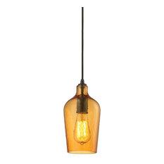 elk hammered glass 1 light mini pendant amber pendant lighting amber pendant lighting