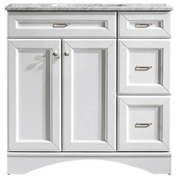 Epic Transitional Bathroom Vanities And Sink Consoles by Vinnova