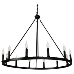 Transitional Chandeliers by Canyon Home Furniture Inc