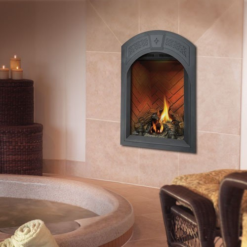 Efficient Direct Vent Gas Fireplace