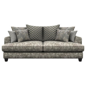 Florence 3-Seater Sofa, Truffle Brown
