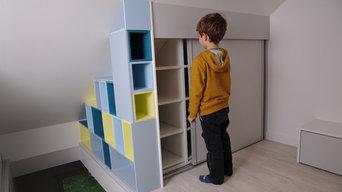 Installation-rangement-sous-comble