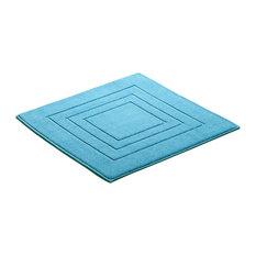 Feeling Square Bath Mat, Turquoise