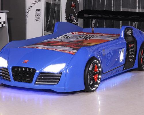 Audi V8 Race Car Bed