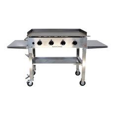 "Residence - Jones Cooking Griddle Cart, 36"" - Outdoor Grills"