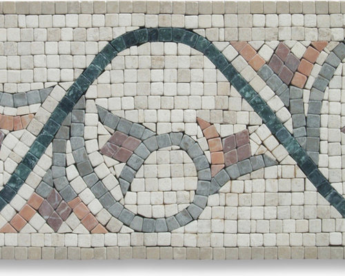 listello tile mosaic borders, Wohnideen design