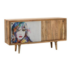 Kamala Sideboard, Multicoloured