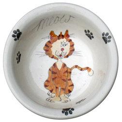 Contemporary Pet Bowls And Feeding by Elias Ceramics
