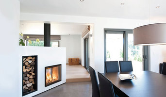 Double Sided Fireplace: Concept 760D Green