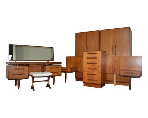 Mid Century Teak Bedroom Set by G Plan