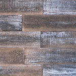 "Holey Wood Studio - 5""x2' Smart Paneling 3D Wall Planks DIY Antique Wood, Set of 12, 10 SF - - 350-year old wood paneling made from American Hardwoods"