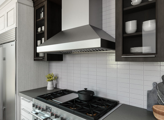 Contemporary Kitchen by Zephyr Ventilation